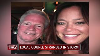 Local couple on vacation in St. John stranded in path of Hurricane Irma - Video