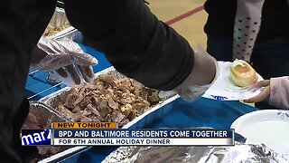 BPD and Baltimore residents come together for 6th annual dinner