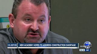 Program training workforce to build homes in Colorado - Video