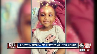 Missing Noelani Robinson, 2, may be with relative, friend or acquaintance of suspect, police say - Video