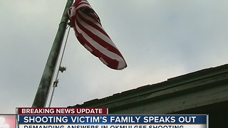 Shooting Victim's Family Speaks Out - Video