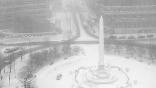 Timelapse Shows Blizzard Conditions Around McKinley Monument - Video