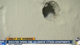 Shooter opens fire on senior citizen apartments - Video