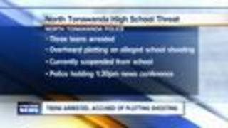 Three North Tonawanda students charged with making terroristic threat - Video