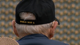 Honor Flight veterans visit WWII Memorial in Washington D.C. - Video