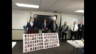 Officials hold news conference about drug bust in Richland County