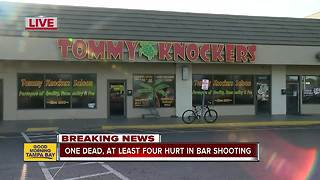 One dead, 4 injured in Bradenton bar shooting - Video
