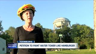 Tasty makeover possible for Hamburg water tower - Video