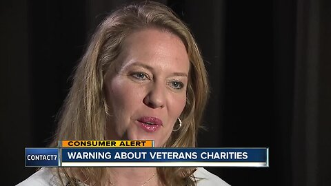 BBB issues warning about Veterans charities