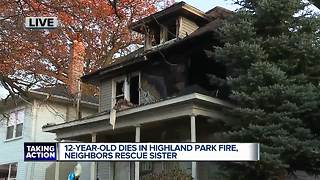 12-year-old boy dies in Highland Park fire, medical examiner confirms - Video