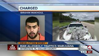 43 pounds of marijuana confiscated in Alligator Alley bust - Video