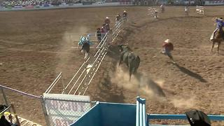Rodeo clowns aren't all fun and games - Video
