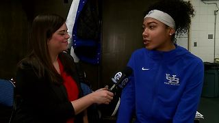 Summer Hemphill talks her sophomore season with UB - Video