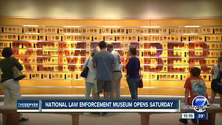 National Law Enforcement Museum opens Saturday