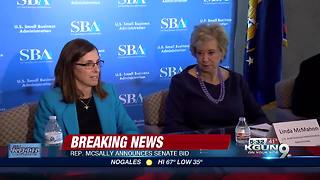AZ Rep. Martha McSally announces bid for U.S. Senate - Video
