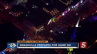 Music City Gears Up For Game 6 - Video