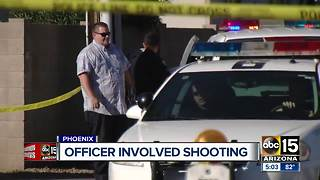 Phoenix officers shoot suspect who held a woman hostage - Video