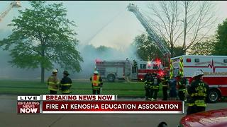 Early-morning fire damages Kenosha Education Association building