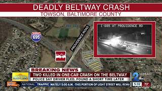 2 killed in crash on beltway - Video