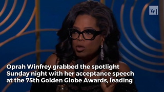 After Oprah Fuels 2020 Speculations with Golden Globes Speech, Meryl Streep Releases a Statement - Video