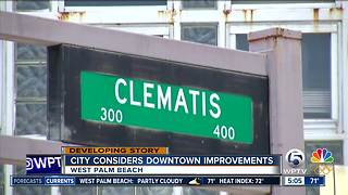 West Palm Beach leaders seek feedback on Clematis Street improvement plan