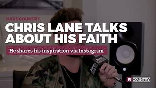 Chris Lane talks about his faith | Rare Country