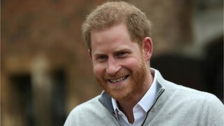 Prince Harry says new baby is 'absolutely to die for'