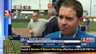 Royals To Play Storm Chasers at Werner Park - Video