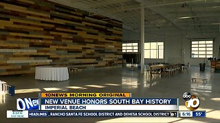 New event venue honors South Bay history