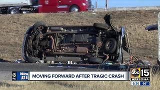 Mesa family moves forward after tragic crash - Video