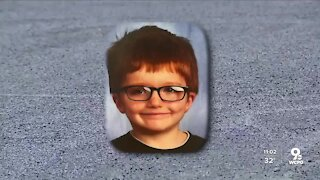 Dozens grieve for Middletown 6-year-old James Hutchinson
