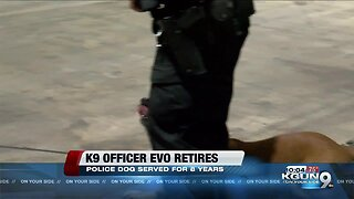K9 Officer Evo retires after 8 years of service