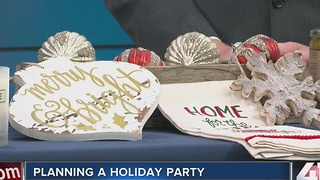 Planning a holiday party - Video