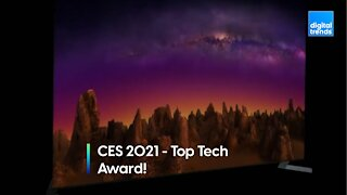 Digital Trends at CES 2021 - Top Tech Winner
