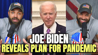 Joe Biden Reveals Plan For Pandemic