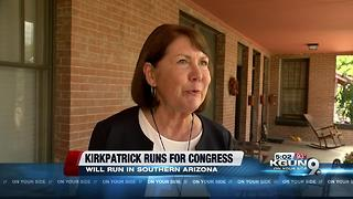 Ann Kirkpatrick announces plans to run against U.S. Rep. McSally - Video
