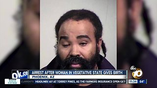 Arrest after woman in vegetative state gives birth