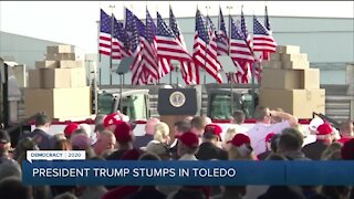 President Trump stumps in Toledo