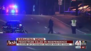 Pedestrian killed in Independence hit-and-run overnight - Video