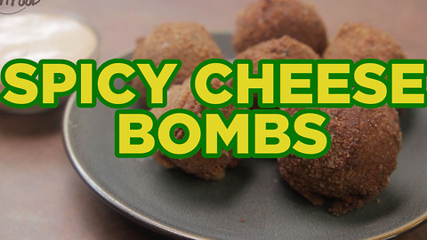 Spicy Cheese Bombs