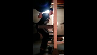 390 pounds squat belted faster than last week