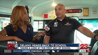 Delano Union School District students return back-to-school