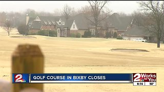 Bixby golf course closes after more than two decades