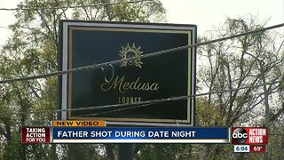 Tampa father shot outside club during date night