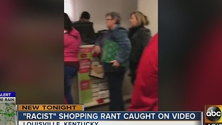 VIRAL VIDEO: Woman goes on racist rant in KY mall - Video