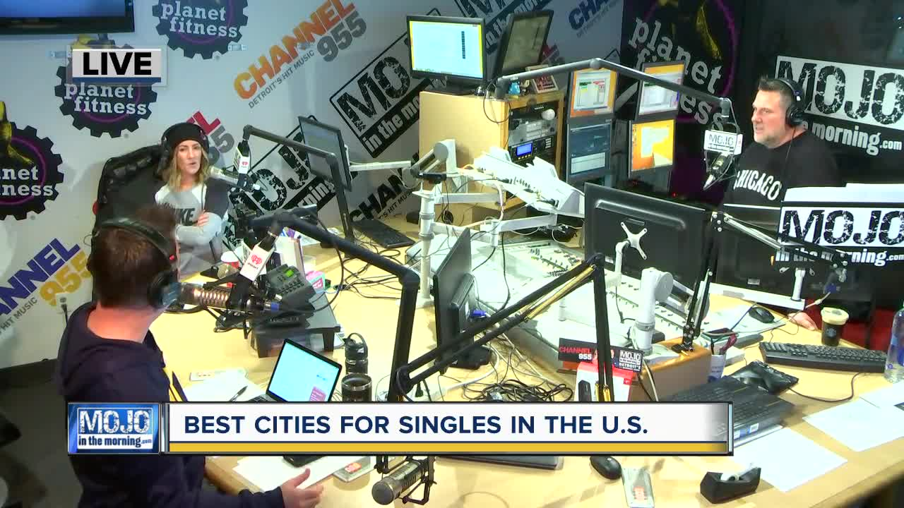 Mojo in the Morning: Best cities for singles
