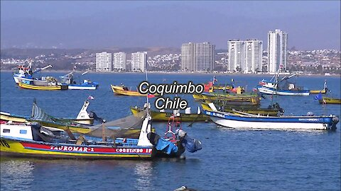 Coquimbo city in Chile