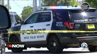 Police investigate shooting in West Palm Beach - Video