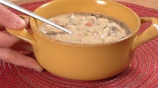 How to make Creamy Chicken and Wild Rice Soup - Video