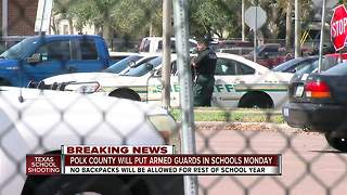 Tampa Bay area districts making changes after Texas school shooting - Video